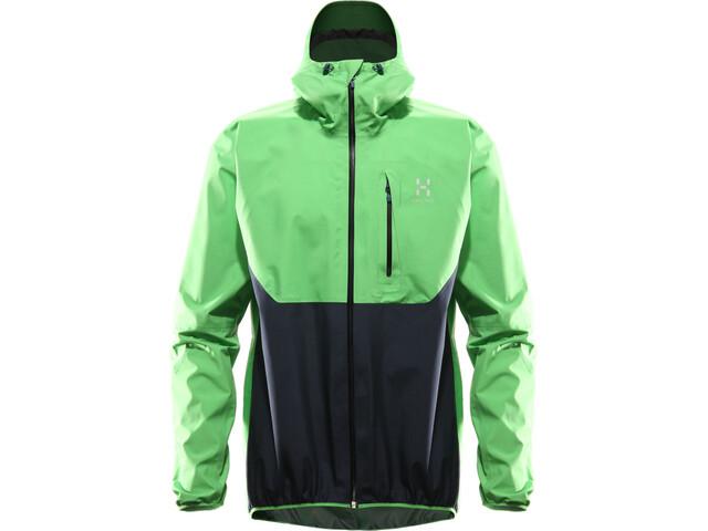 Haglöfs Gram Comp Jacket Herren sugarsnap green/deep blue